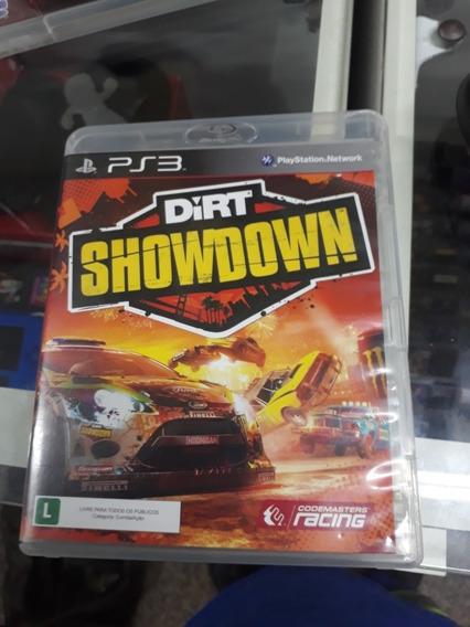 Dirt Showdown Ps3 Mídia Física Original, Campinas