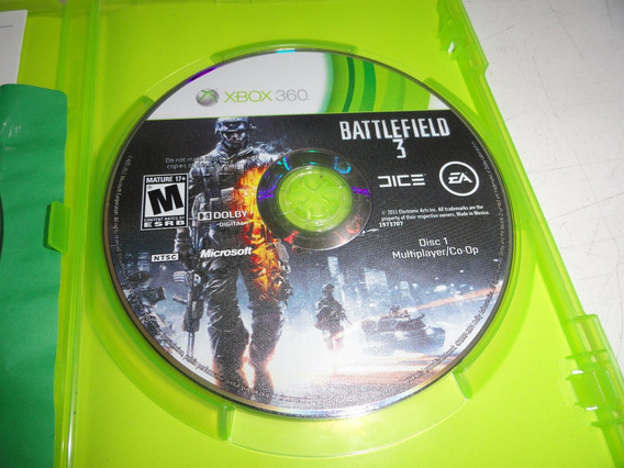 Battlefield 3 Xbox 360 Midia Fisica Original