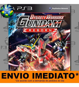 Jogo Dynasty Warriors Gundam Reborn Psn Pronta Entrega Ps3