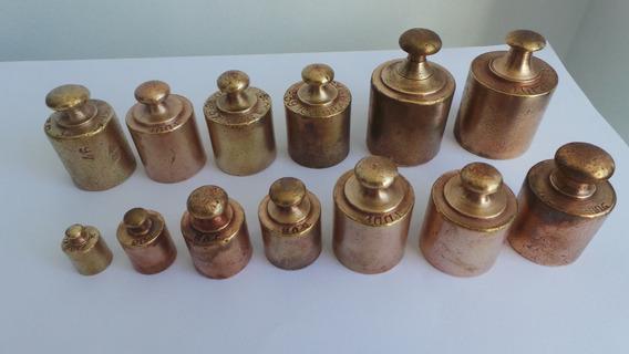 Tck Antigo Peso Bronze Para Balança Antiga Preço De Cada 1