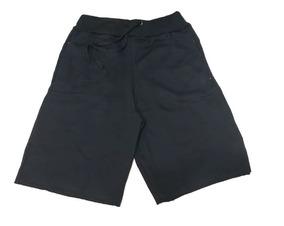 3 Bermudas Moletom Moletim Moleton Shorts De Marca Nik