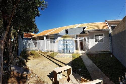 Casa Com 2 Dormitórios À Venda, 40 M² Por R$ 143.000,00 - Campo De Santana - Curitiba/pr - Ca0373