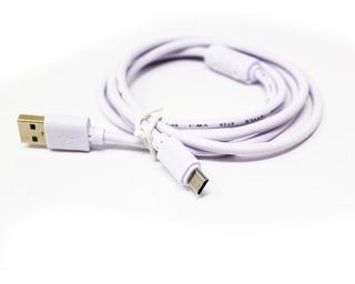 Cable V8 Celular 1.5 Metros Con Filtro Reforzado Micro Usb