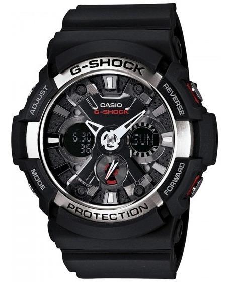 Relógio Casio Ga-200-1adr Masculino Anadigi - Refinado