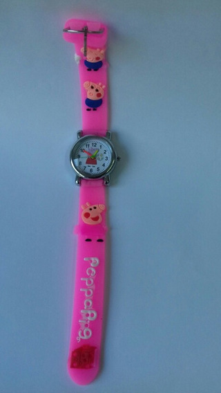 Relógio Peppa Pig - Rosa Pink - Cod. 00335