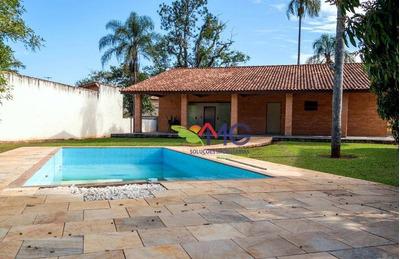 Chácara Residencial À Venda, Jardim Estância Brasil, Atibaia. - Ch0164