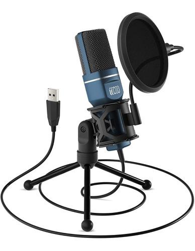 Microfono Usb Para Pc Y Mac Marca Tonnor Grabaciones