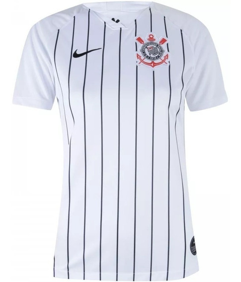 Nova Camisa Nike Oficial Corinthians Branca 2019 Feminina