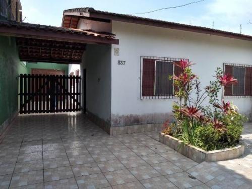 Casa Lado Praia No São Jorge Em Itanhaém Litoral - 5957 |npc