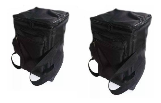 Bag Capa Case Para Caixa De Turbosound Lq12 (2 Uni)