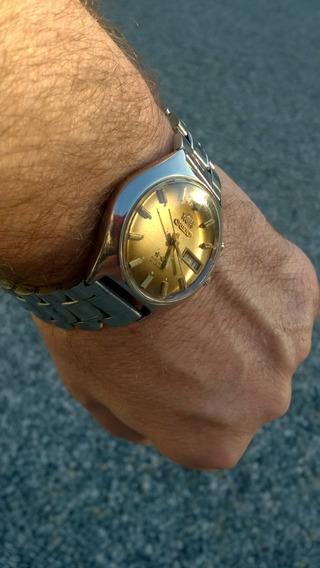 Lindo Relógio Orient Automático Anos 70 21 Rubis De Coleção