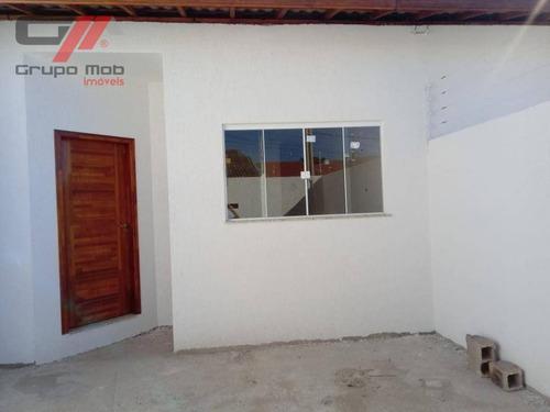 Imagem 1 de 11 de Casa Com 3 Dormitórios À Venda, 84 M² Por R$ 255.000 - Jardim Columbia - Taubaté/sp - Ca0339