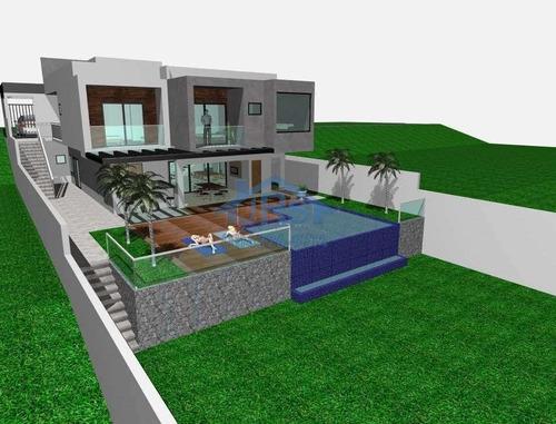 Sobrado Com 4 Dormitórios À Venda, 395 M² Por R$ 1.800.000,00 - Jardim Do Golf I - Jandira/sp - So1980