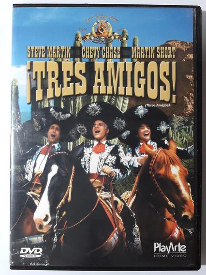 Dvd Três Amigos 1986 Original Steve Martin Chevy Chase