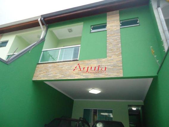 Sobrado Com 4 Dormitórios À Venda, 200 M² Por R$ 790.000 - Vila Curuçá - Santo André/sp - So1148