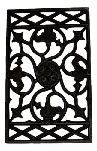 Imagem 1 de 1 de Grade Ferro Fundido Veneza Sacada Varanda Escada 49x78cm