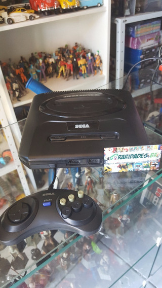 Vídeo Game Mega Drive 3 Completo + 1 Controle Paralelo