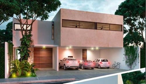 Casas Residenciales En Privada Ubicadas En Temozon Norte Modelo B