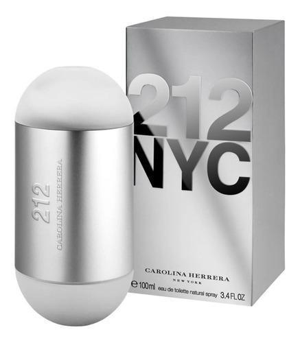 Perfume 212 Nyc 100ml  Carolina Herrera Original Sellado