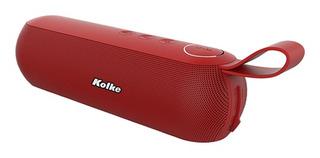 Parlante Kolke Kpp-263 Catch Bluetooth Rojo
