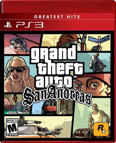 Imagen 1 de 3 de Gta - Grand Theft Auto San Andreas Ps3 / Mipowerdestiny