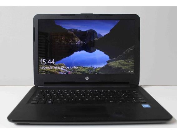 Notebook Hp 14-ac102br 14 Intel Cel 1.60 Ghz 4gb Hd-500gb