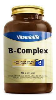 Vitaminas B Complex - B1, B2, B3, B6, B9, B12 - Vitamin Life