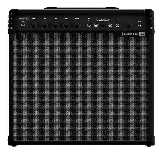 Cubo Amplificador De Guitarra Line 6 Spider V120 Loja Gtia !