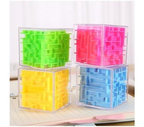 Imagen 1 de 2 de Cubo Laberinto Didactico Para Niños Adultos Ingenio Original