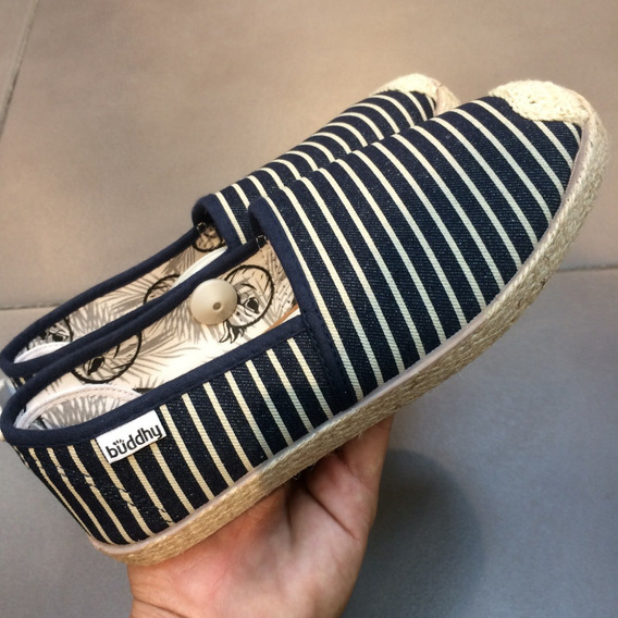 Zapatos Buddhy Originales Para Damas - Bd16057w - Navy