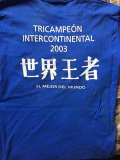 Camisa Oficial Boca Juniors Comemorativa 2003