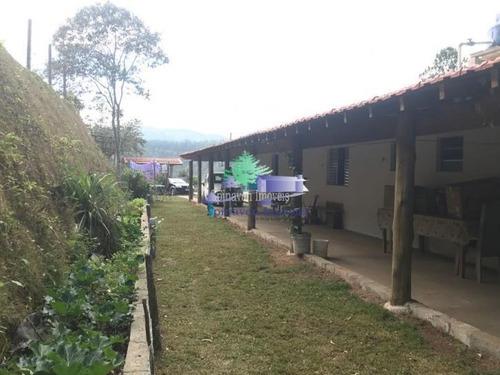 Chácara Residencial Em Atibaia Escriturada Com 2 Anos De Construção - Bom Acesso. - Ch00700