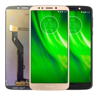 Tela Touch Display Lcd Frontal Motorola Moto G6 Play Preto