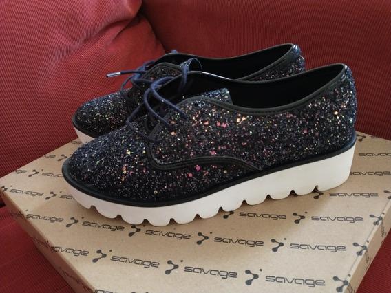 Zapatos Acordonados Via Uno