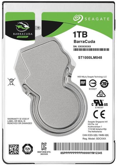 Hd 1tb Notebook Seagate Barracuda Sata 3 Xbox Ps4 Lacrado