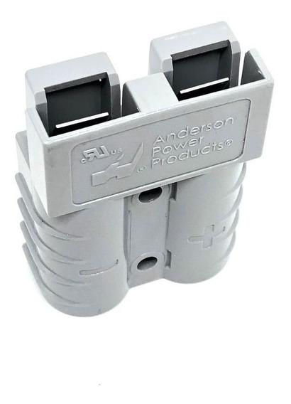 Conector Para Bateria De Empilhadeira Sb50 / Sl50 Cinza