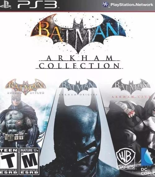 Batman Arkham Collection Trilogia Psn Ps3 Envio Rápido