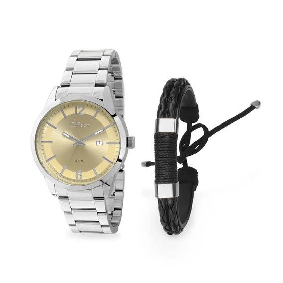 Kit Relógio Condor Masculino - Co2115wf/k3d
