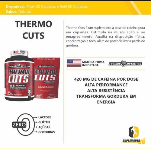 Adelgazante Thermogenico Cuts 120 Cápsulas