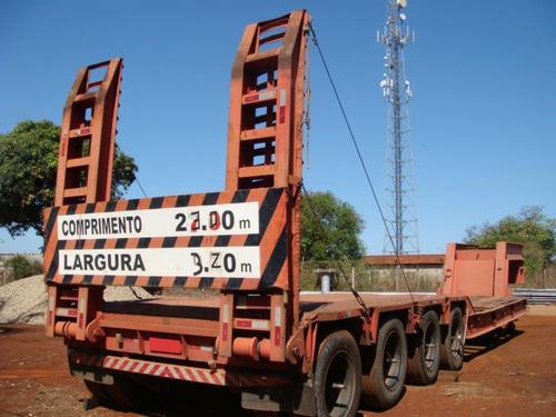 Carreta Prancha 4 Eixos Rebaixada Fruehauf - 1028