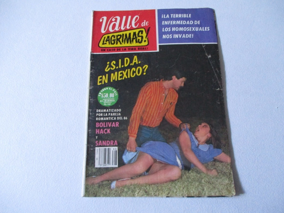 1986 Fotonovela Valle De Lagrimas Sida En Mexico #566