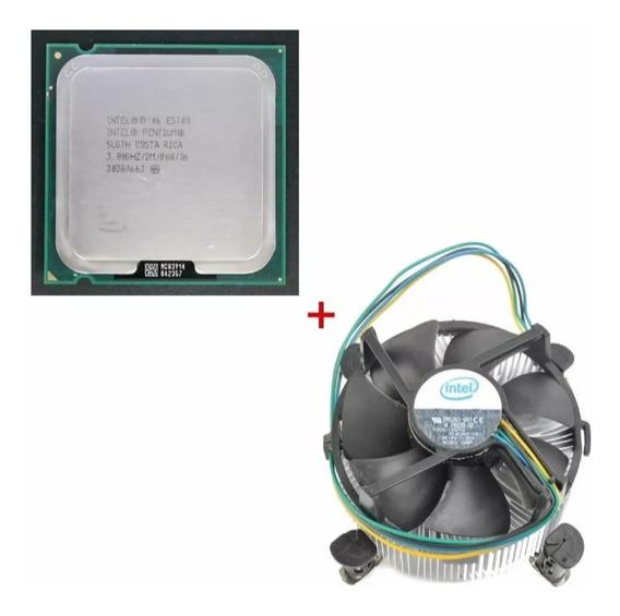 Processador Intel Pentium Dual Core E5700 + Cooler Box