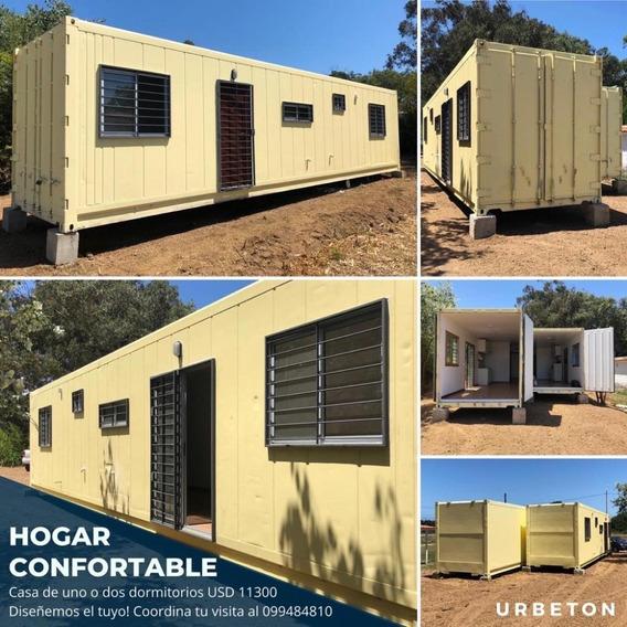 Casa Contenedor En 20 Días // Urbeton Hogar // 1 Dormitorio