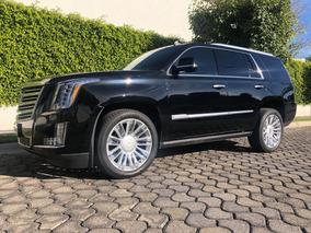 Cadillac Escalade 2016 Platinum Factura Original Un Dueño