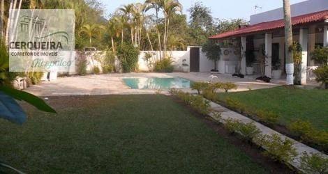 Casa Com 5 Dormitórios Para Alugar - Acapulco - Guarujá/sp - Ca0561