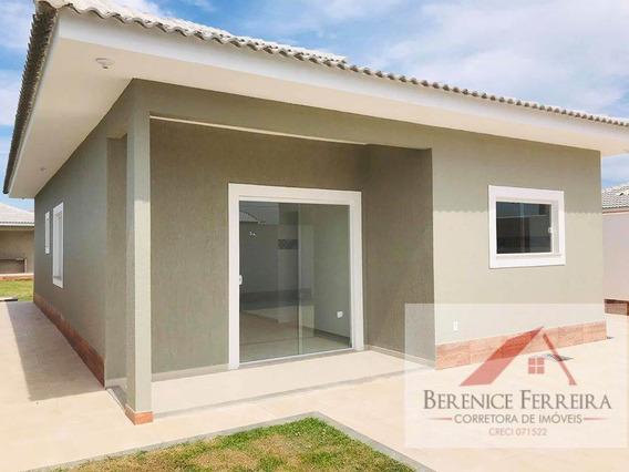 Casa À Venda No Bairro Itaipuaçu Em Maricá/rj - 134