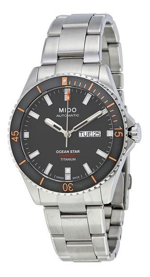 Relogio Mido M0264304406100 Ocean Star Titanium Automatico