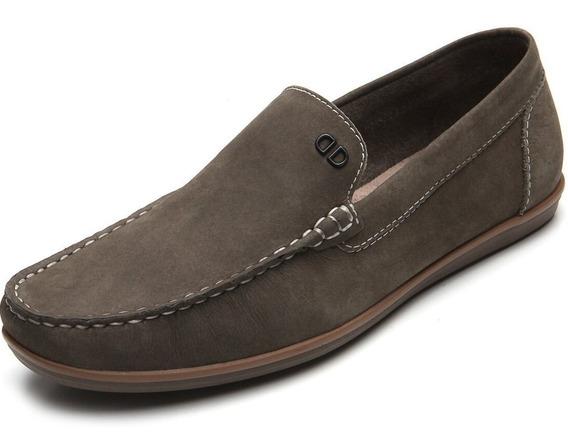 Zapato De Cuero Democrata Hombre Tag Mocasin 226102 - Cuotas