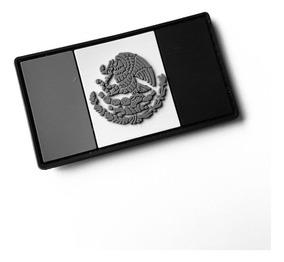 Parche Insignia Táctico Militar Gotcha Bandera México Grises