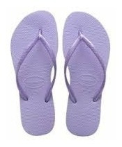 Ojotas Havaianas Slim Originales Lisas 100% Made In Brasil